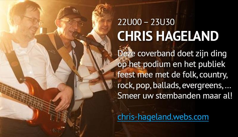 Covers met Chris Hageland